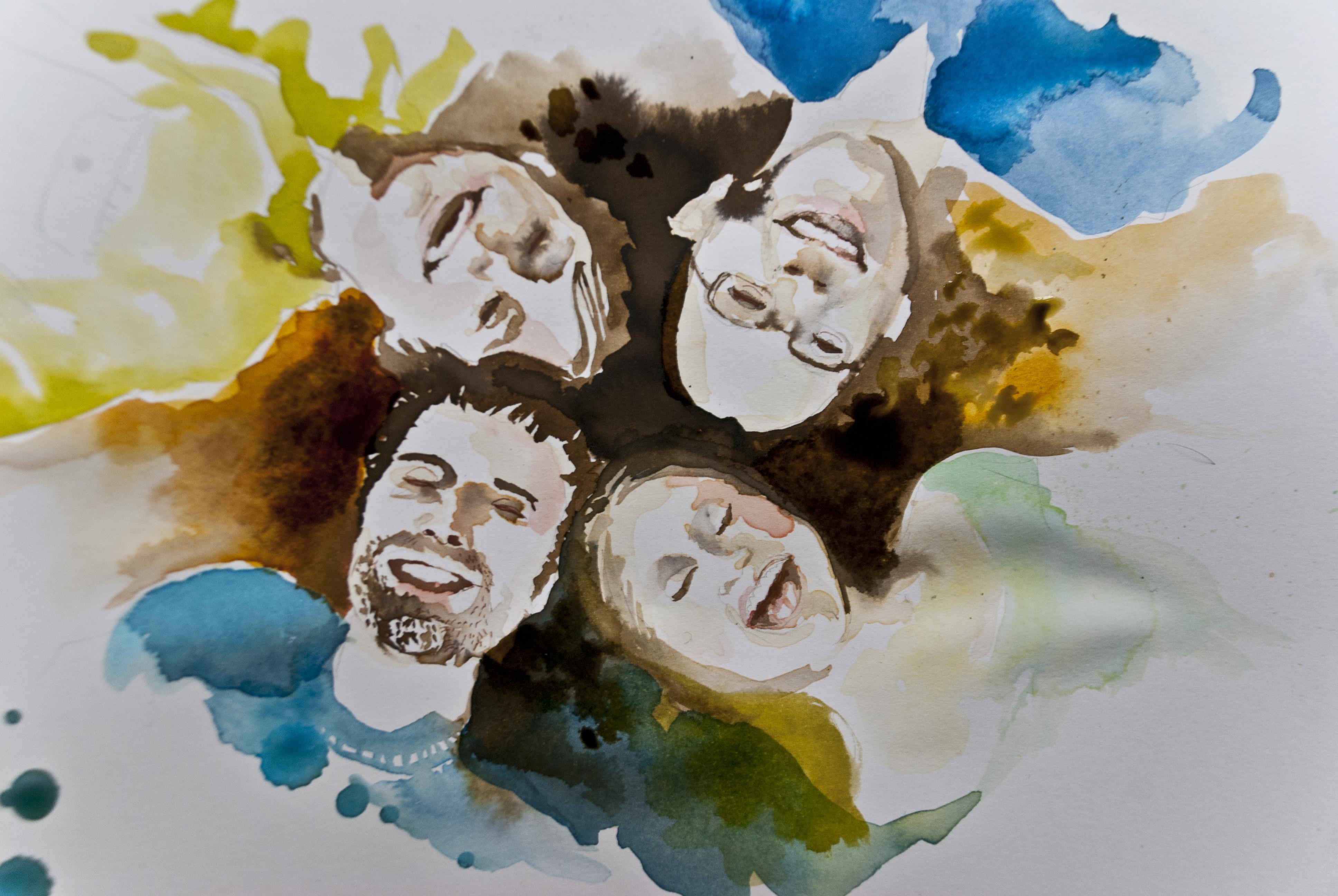 karin grabein anemone kloos illustration