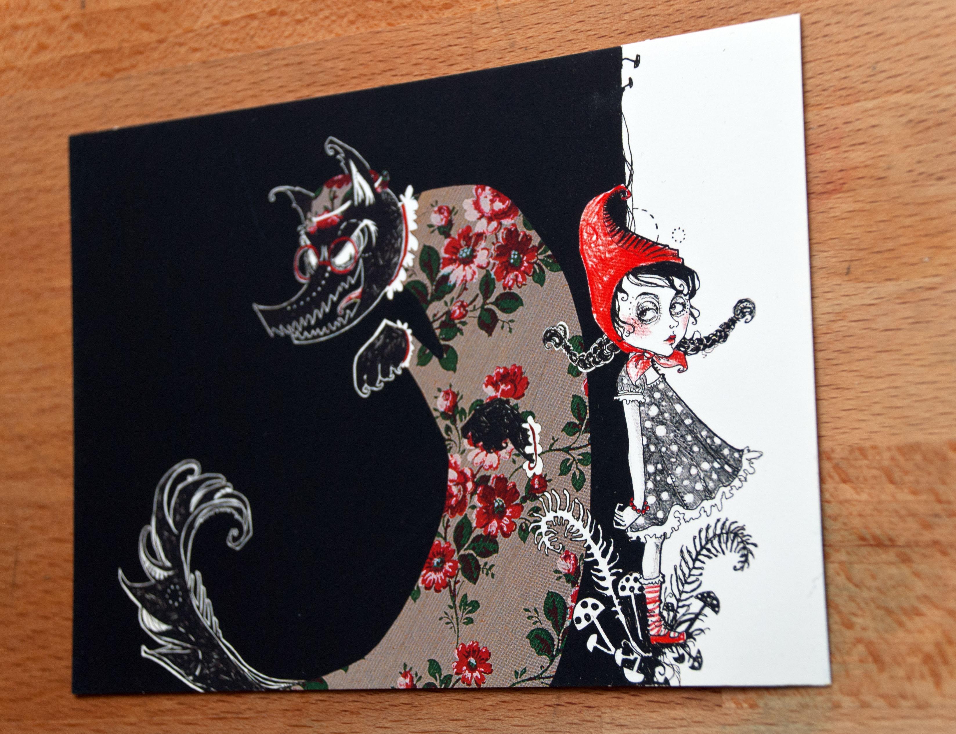 anemonekloos_rotzaffrotkaeppchen_postkarte